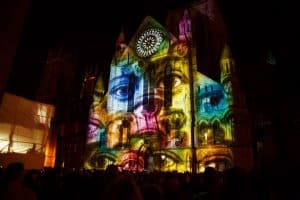 video mapping projection